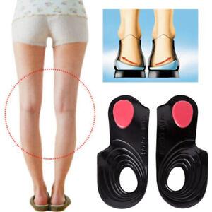 3//4 Orthesen Schuh Einlegesohlen Arch Support Heel Plantarfasziitis Einsätze
