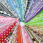 50 par lot Fabric Bundle Stash Patchwork Sewing Paquet de tissus matelassés