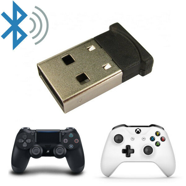 Newlink USB PC Bluetooth Adapter Receiver Dongle V5.0 for Games Controllers