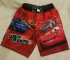 Cars Swim Shorts Trunks Disney Pixar Wild Riders 18 Months M