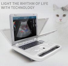 Cms1700a Portable Veterinary Ultrasound Scanner Color Doppler Vet Machine Probe