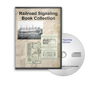 Railroad-Signaling-Signal-17-Vintage-Book-Collection-on-CD-D229