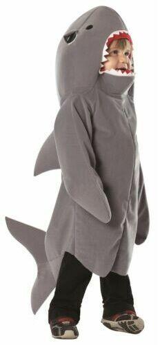 SHARK attack Jaws kids boys child tunic funny halloween costume
