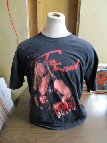 Vintage 1998 WCW NWO Kevin Nash Too Sweet Black T-