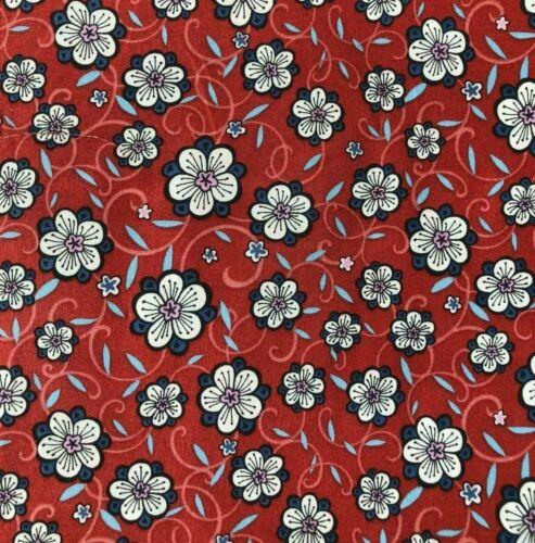 "Liberty of London Tana Césped Tela De Algodón /""Lolly/"" imprimir 2M x135cm Floral"