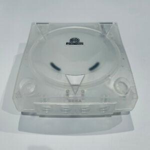 SEGA-Dreamcast-Console-3rd-Party-Translucent-Case-Shell-Transparent-Clear