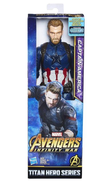 Infinity War Titan Hero Series Captain America 12-Inch Action Figure Avengers