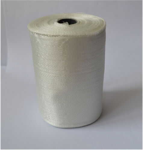 1 Roll Fiberglass Cloth Tape E-Glass Wide 100mm *25m long Fiber Plain Weave