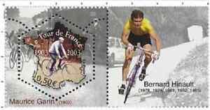 Timbre-Neuf-France-TTB-Centenaire-du-Tour-de-France-2003-N-3583-Bernard-Hinault