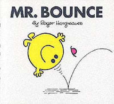 """""""AS NEW"""" Hargreaves, Roger, Mr. Bounce (Mr. Men Hardbacks) Book"""
