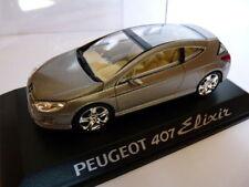 Voiture 1/43 PEUGEOT norev concept car : 407 elixir