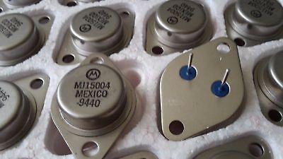 MJ15004 Original New Motorola PNP AF AP SWI 140V-20A-250W Transistors