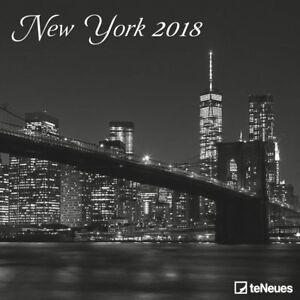 CALENDRIER-2018-NEW-YORK-N-B-30-x-30-cm