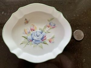 Celeste-Oval-Bone-China-Bowl-by-AYNSLEY-amp-SONS-England-Free-Shipping