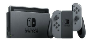 Nintendo Switch | Gray Joy-Con, bundled w/ Carrying Case and Screen Protector