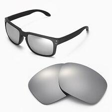 New Walleva Titanium Replacement Lenses For Oakley Holbrook Sunglasses