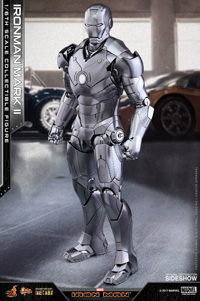 Marvel Iron Man Mark Action Figure 1 6 6 6 Hot Toys Sideshow Diecast Mms 431 D-20 750f38