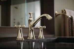 Brizo Baliza 65305lf Pnlhp Polished Nickel Widespread Bathroom Faucet Less Handl 34449603348 Ebay
