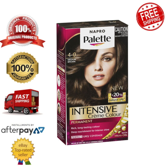 Schwarzkopf Napro Palette Hair Care Colouring Deep Nourishment 4-0 Medium Brown