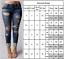 Women-Ripped-Biker-Jeans-Denim-Pencil-Pants-Jeggings-High-Waist-Stretch-Trousers thumbnail 2