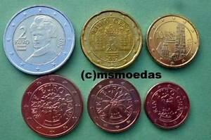 Oesterreich 6 Euro Münzen 2012 Mit 1251020 Cent 2 Euro