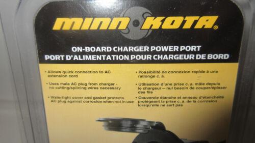 Minn Kota On-Board Charger power Port MKR-21