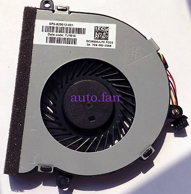 For HP 15-AC Laptop CPU Cooling FanDC28000GAD0 SPS-813946-001 DFS451205M10T FCA8