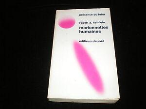 Pdf 158159 Robert A Heinlein Marionnettes Humaines Edition Novembre