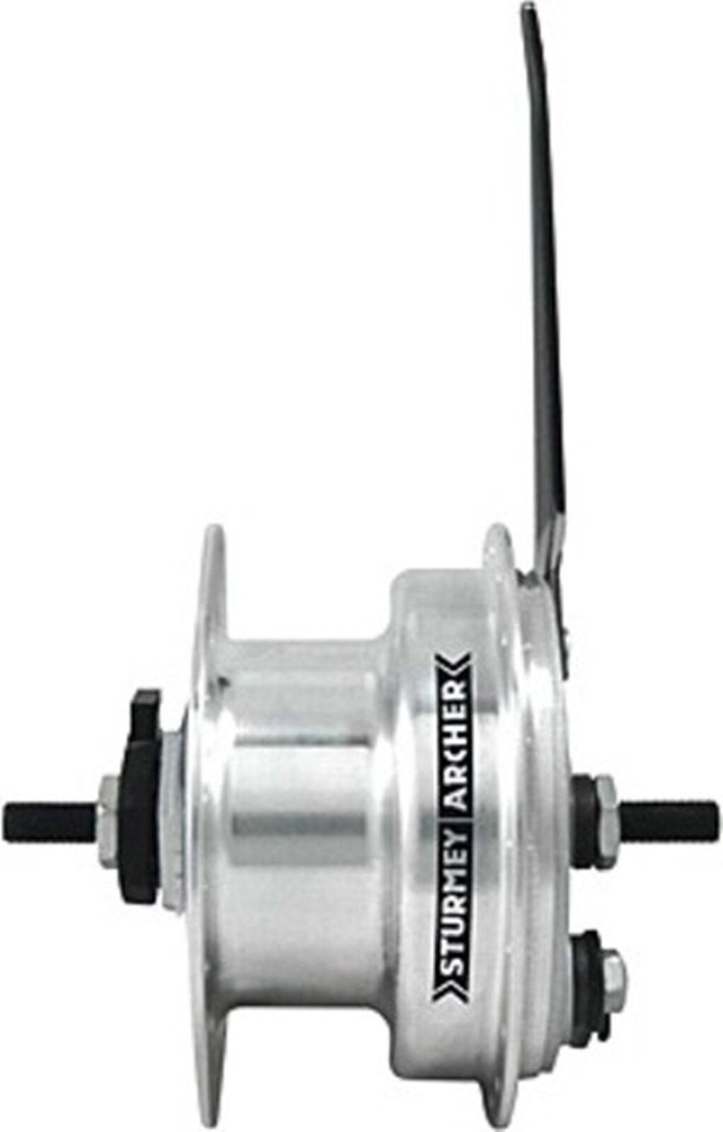 Hub Dynamo with Drum Brake by Sturmey Archer Model XL-FDD 3,0