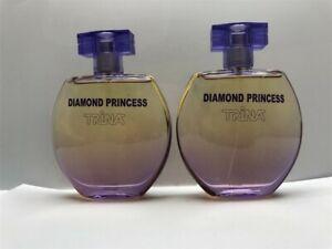 Lot-2-Trina-Diamond-Princess-3-3-oz-100-ml-Eau-de-Parfum-Spray-Women-As-Imaged