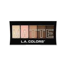 L.A. Colors Makeup Silky Smooth Matte Eyeshadow Palette CEM478 Tan Khaki