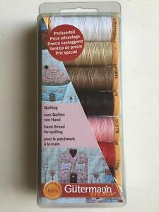 Gutermann-Quilting-Thread-Set-7-Reels-Assorted-Colours