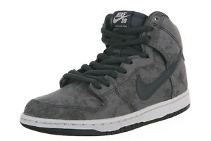 new style 9bff2 4a0f8 Image is loading Nike-DUNK-HIGH-PRO-SB-Neutral-Grey-Anthracite-