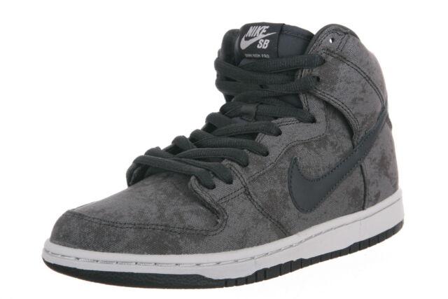super popular 2c5e8 1346f Nike DUNK HIGH PRO SB Neutral Grey Anthracite Skate 305050-011 (329) Men's  Shoes