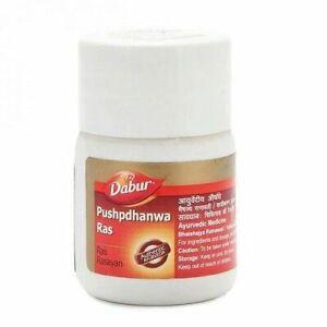 Dabur-Pushpdhanwa-Pushpdhanva-Ras-40-Tablets-FREE-SHIPPING