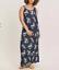 Ladies-Brand-New-Ex-Evans-Navy-Floral-Print-Summer-Maxi-Dress-Plus-Size-14-16-18 miniatuur 1