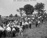 8x10 Civil War Photo: Union Gen. Dan Sickles With Veterans At Gettysburg