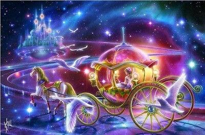 "NEW Cross Stitch Kits DMC ""The Snow White princess and"""