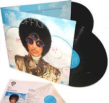 PRINCE LP x 2 Art Official Age Double Vinyl Album Gatefold + PROMO Sheet SEALED