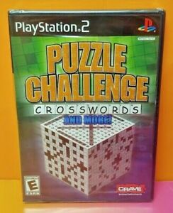 Puzzle Challenge + More  -  PlayStation 2 PS2 Brand New X Y Factory Sealed Game