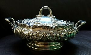 Dominick & Haff Bailey Banks & Biddle Sterling Silver Covered Bowl