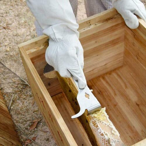 Stainless Steel Polished Bee Hive Hook Scraper Beekeeping Supplies Tools Pr Q3Z0