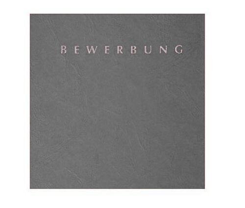 """12-teiliges Set Pagna Bewerbungsmappen grau Basic /""""Special/"""" mit Versandtaschen"""