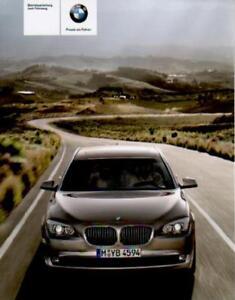 BMW-F01-Betriebsanleitung-2010-Bedienungsanleitung-7er-Handbuch-Bordbuch-BA