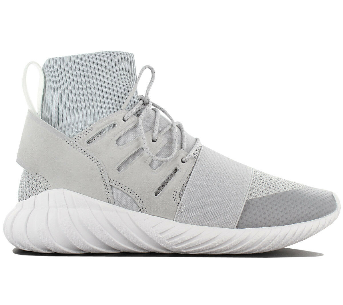 best service b6deb e1df1 Adidas Originals Originals Originals Tubular Doom mid shoes Men s Sneakers  By8701 Trainers Grey c5e975