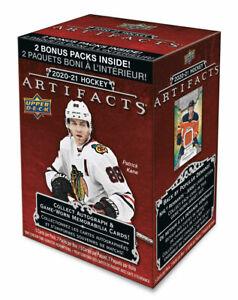 2020-21 Upper Deck Artifacts Hockey Retail Blaster Box - 5 packs + 2 bonus packs