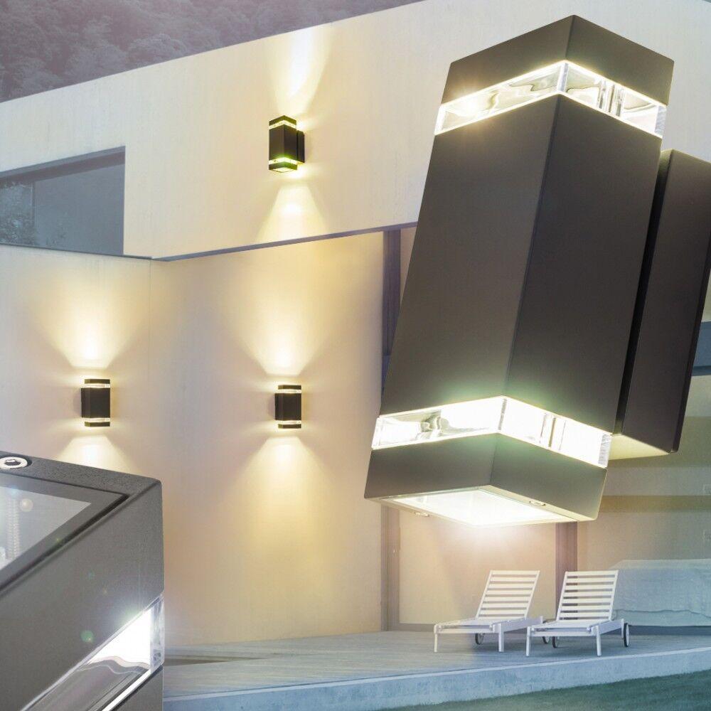 Design LED Lampada parete esterno applique up and down FARETTO LAMPADE ANTRACITE