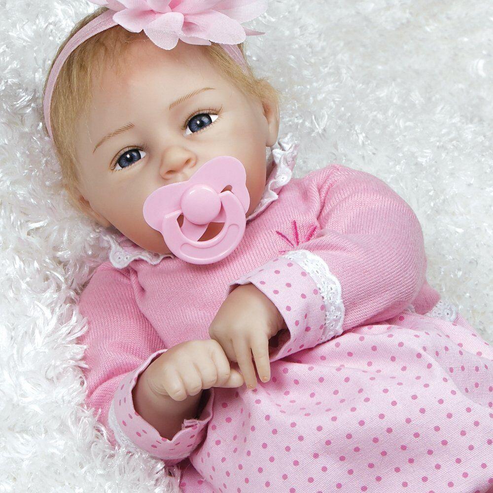 Galerías Paraíso muñeca bebé realista-flextouch  Vinilo De Silicona poco Lara