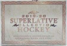 2019-20 LEAF SUPERLATIVE COLLECTION HOCKEY BOX