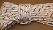 "3/4"" x 140' Double Braid Rope, Arborist Bull Rope, Rigging Line, Hoist Line, NEW"